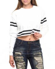 Sweaters - Sport Regime Crop Crewneck
