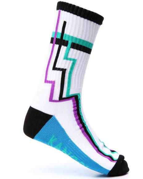Kangol Men Geozone Crew Sock Multi 10-13