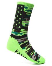 Men - Street Camo Crew Sock