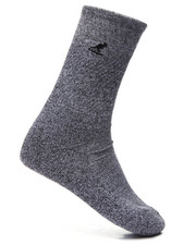 Accessories - Solid Grey State 6 Pk Crew Socks