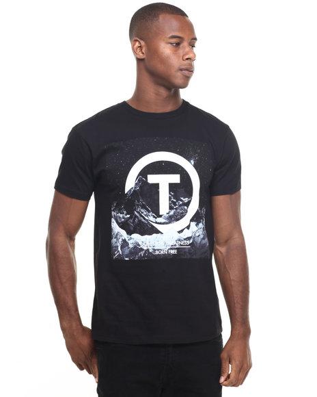 Trukfit - Men Black Core Mountain T-Shirt