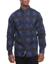 Rocawear - Sketchy Buffalo L/S Button-down