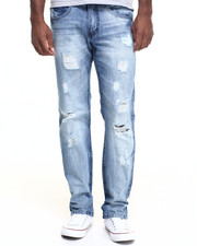 Jeans & Pants - Crescent washed denim Jeans
