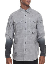Rocawear - Dipped L/S Button-down