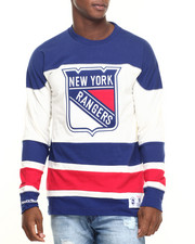 Mitchell & Ness - New York Rangers NHL Changing On The Fly Longsleeve (Traditional Fit)