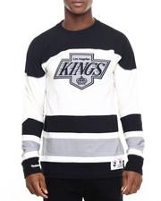 Mitchell & Ness - Los Angeles Kings NHL Changing On The Fly Longsleeve (Traditional Fit)