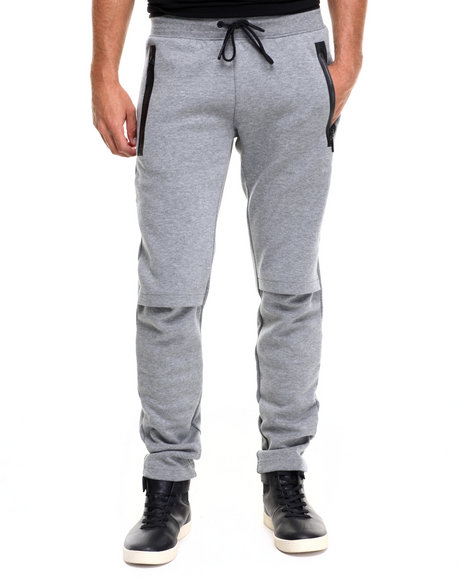 Puma - Men Grey Evo L V Sweatpants