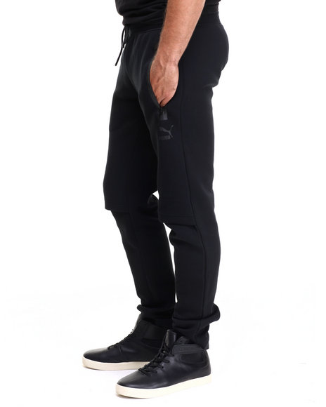 Puma - Men Black Evo L V Sweatpants