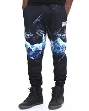 Jeans & Pants - Allover Printed Sweatpants