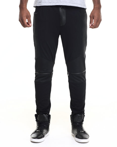 Hudson Nyc - Men Black H D S N Tech Pants