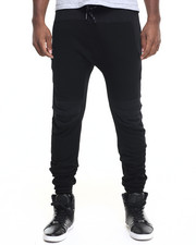Pants - H D S N Speckled Drawstring Joggers