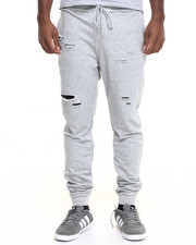 Hudson NYC - Dystopia Destructed Fleece Joggers