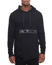 Hudson NYC - H D S N Speckled Pullover Hoodie