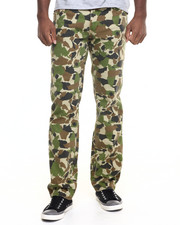 Jeans & Pants - Camo Straight Fit Jeans