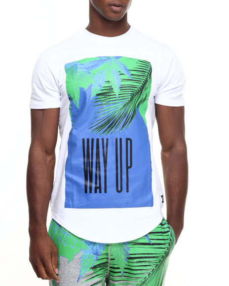 Hudson Nyc - Men White Way Up S/S Tee