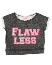 La Galleria - FLAWLESS CROP SWEATSHIRT (7-16)