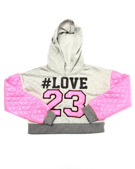 La Galleria Pink Hoodies