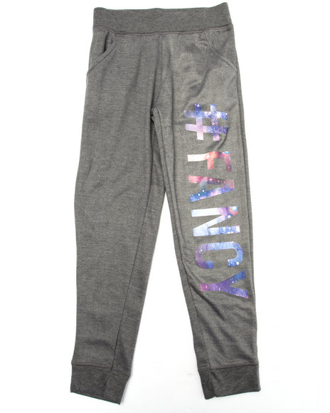 La Galleria - Girls Grey #Fancy Joggers (7-16)