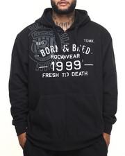 Men - Born Roc Zip Hoodie (B&T)