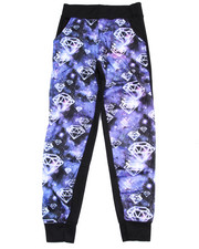 La Galleria - DIAMONDS SUBLIMATION JOGGERS (7-16)