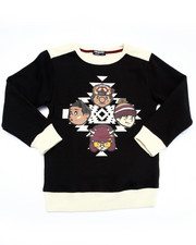 Black Friday Shop - Boys - AZTEC TRUKFIT CREW SWEATSHIRT (8-20)