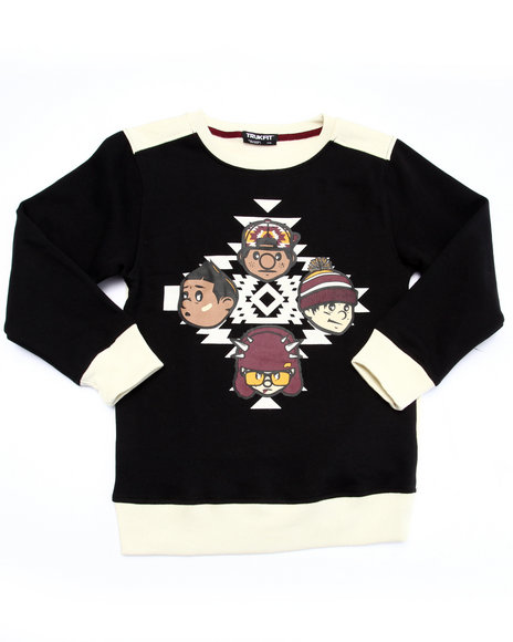 Trukfit Black Sweatshirts
