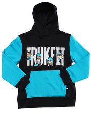 Hoodies - TRUKFIT COLOR BLOCK PULLOVER HOODY (8-20)