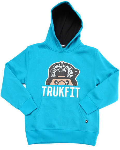 Trukfit - Boys Teal Lil' Tommy Hoody (8-20)