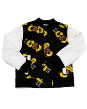Light Jackets - LIL' TOMMY VARSITY JACKET (8-20)