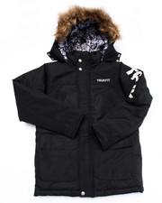 Heavy Coats - TRUKFIT SNORKEL W/ FAUX FUR TRIM HOOD (8-20)