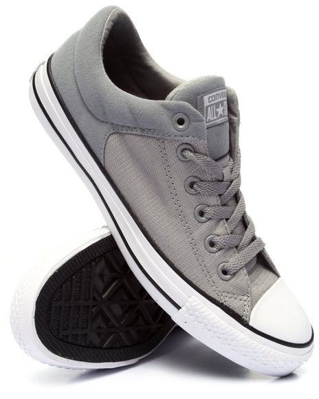 Converse - Men Light Grey Chuck Taylor All Star High Street