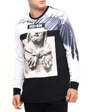 Men - Winged L/S Tee