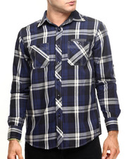 Men - Eagle Plaid Shirt