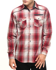 Men - David Plaid Shirt