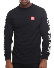 Men - In Nothing We Trust L/S Tee