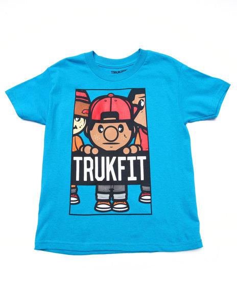 Trukfit Teal T-Shirts