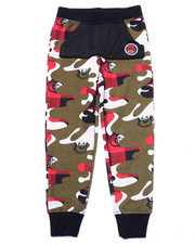 Sweatpants - CAMO JOGGERS (4-7)