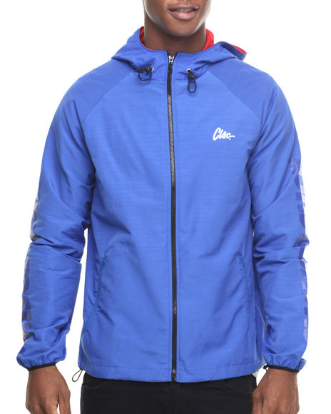 Clsc - Men Blue Whiskey Windbreaker Jacket