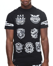 Buyers Picks - Raglan Patch Print Tee