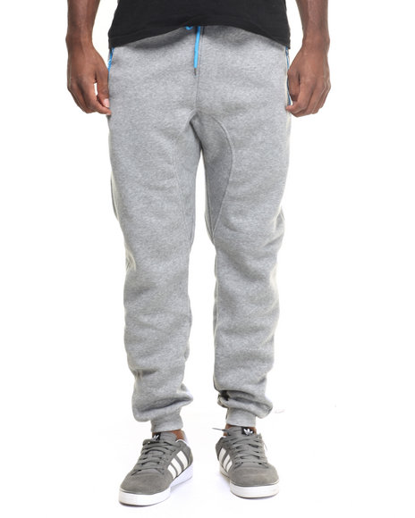 Buyers Picks - Men Blue,Grey Color Contrast Jogger