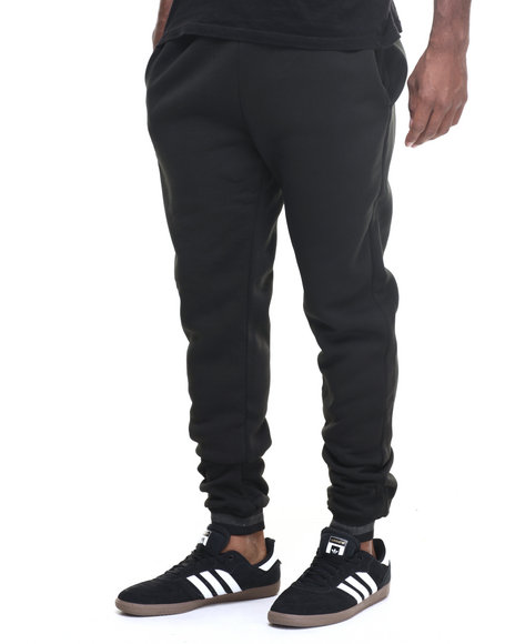 Buyers Picks - Men Black Stripe Band Jogger