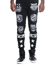 Buyers Picks - Varsity Patch Print Jogger