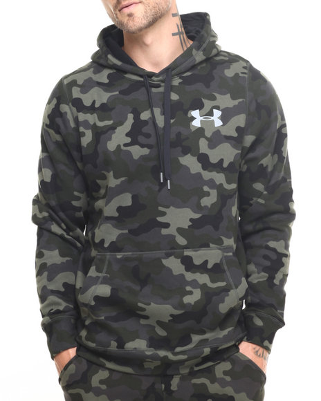 Under Armour - Men Camo Cotton Novelty Pullover Hoodie