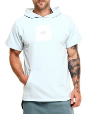 Men - Square Logo Short Sleeve Pullover