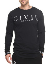 Men - Civil Standard L/S Drop Tee