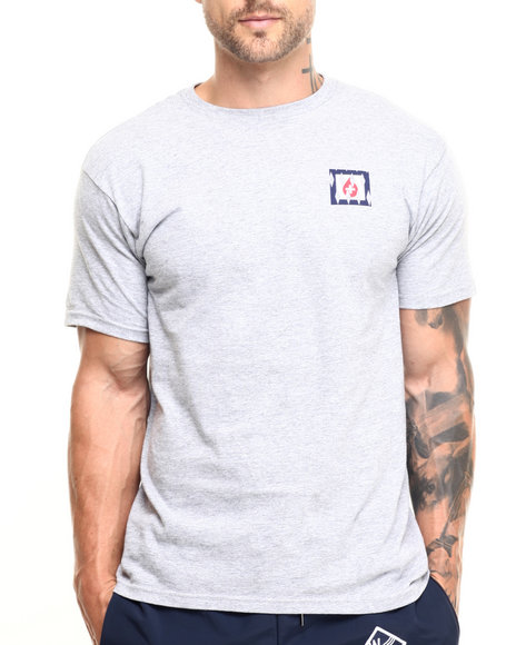 Waters & Army - Men Light Grey Waters & Army Submerge S/S Tee