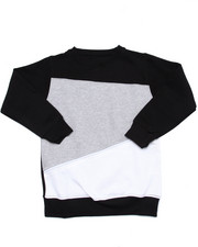 Outerwear - COLOR BLOCK ZIPPER SWEATSHIRT (8-20)