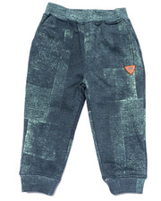 Boys - DENIM PRINT JOGGERS (2T-4T)