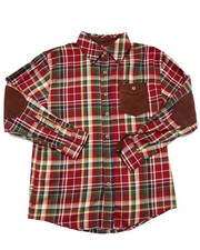 Long-Sleeve - L/S PLAID WOVEN (8-20)