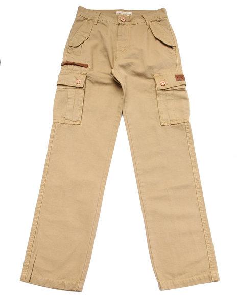 Parish Boys Woven Cargo Pants (820) Khaki 16